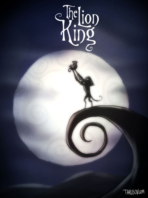 Disney por Tim Burton