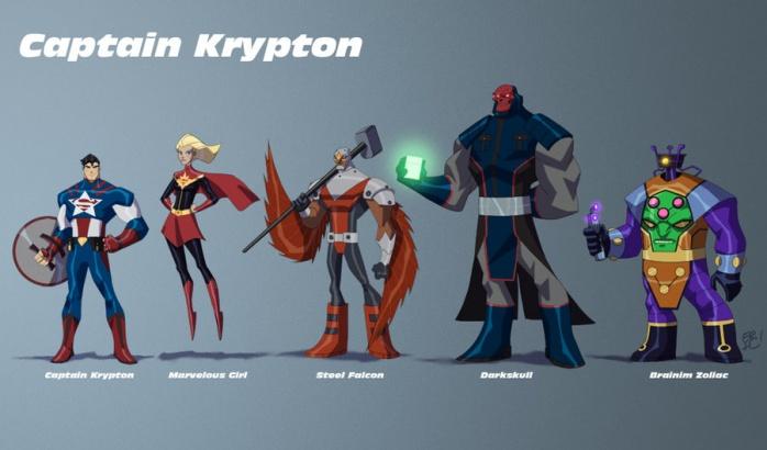 Eric Guzman DC y Marvel