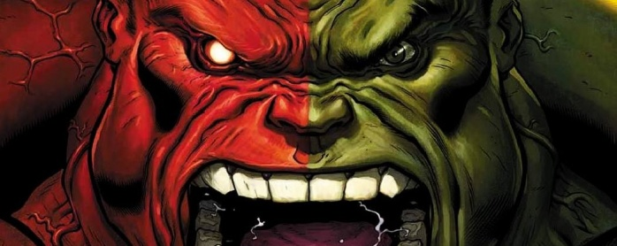 Hulk Rojo no en civil war