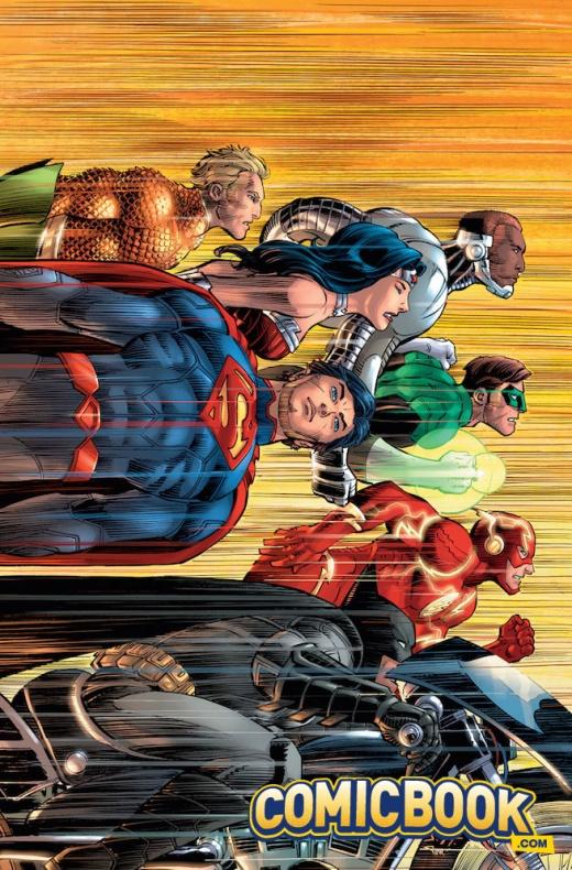 JrJr4 Justice League 50