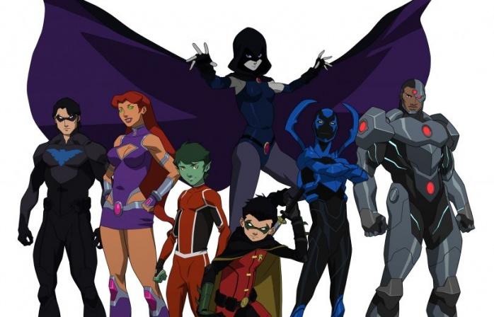 Justice League Teen Titans filme