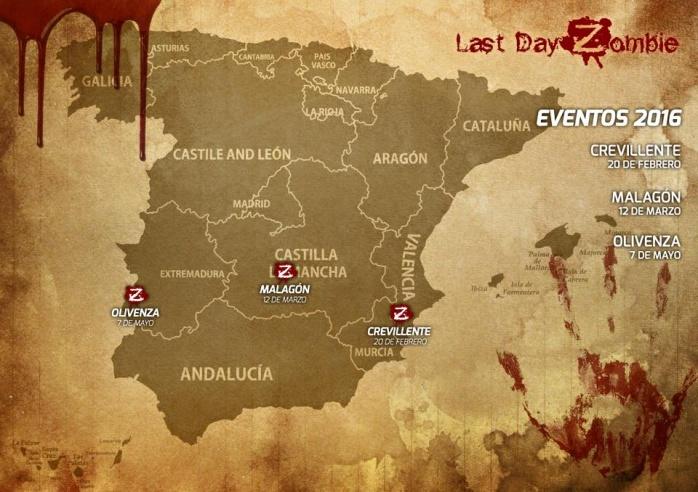 Last Day Zombie - mapa