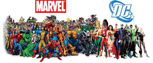 Marvel y DC2