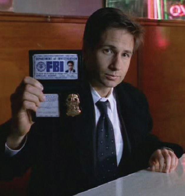 Mulder-placa FBI