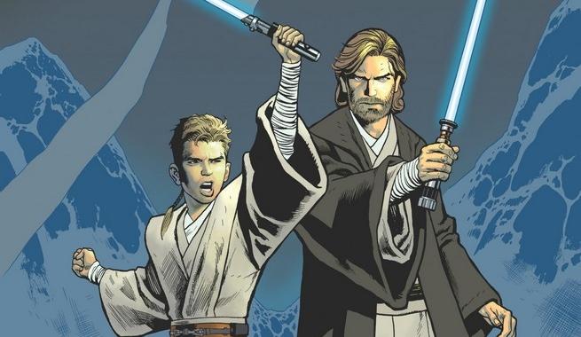 Obi-wan y Anakin