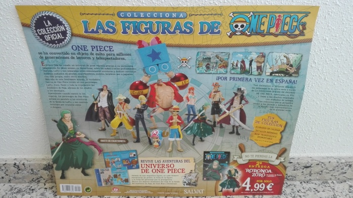 One Piece coleccionable salvat 1