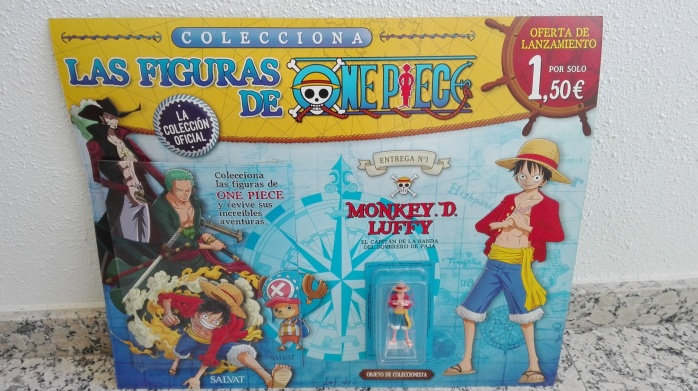 One Piece coleccionable salvat