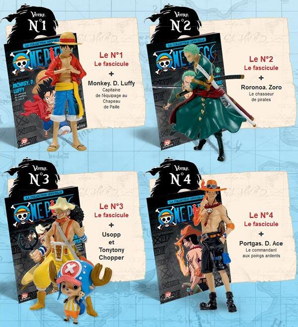 One Piece coleccionable figuras