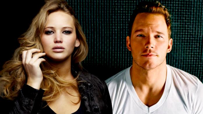 Passengers - Jennifer Lawrence - Chris Pratt