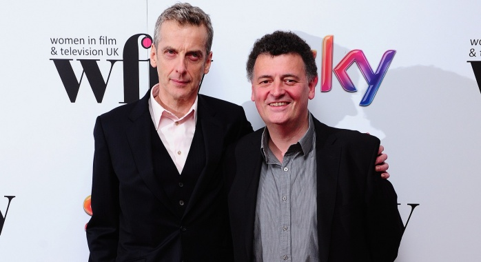 Peter Capaldi Steven Moffat doctor who