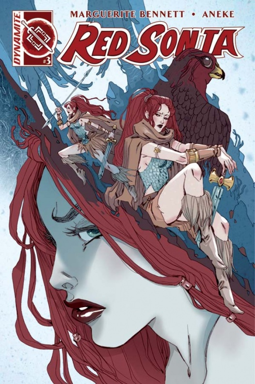 Portada Red Sonja 3