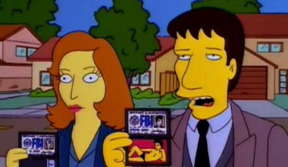 Scully-simpsons