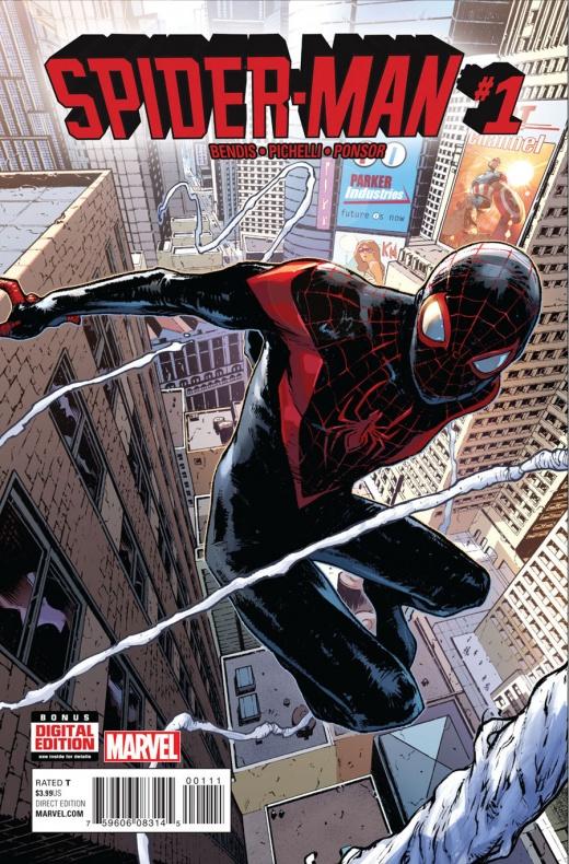 Spider Man 1 Portada
