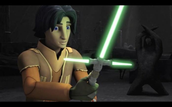 Star Wars: Rebels con el despertar de la fuerza