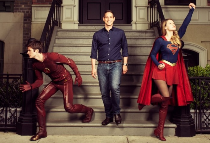 The Flash y Supergirl crossover 1