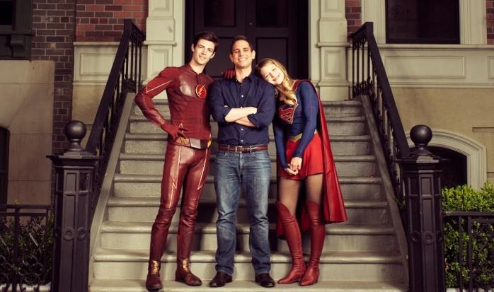 The Flash y Supergirl crossover imagen destacada
