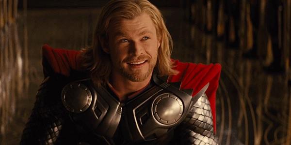 Thor smiles