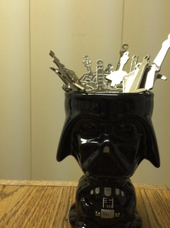 Vader llavero