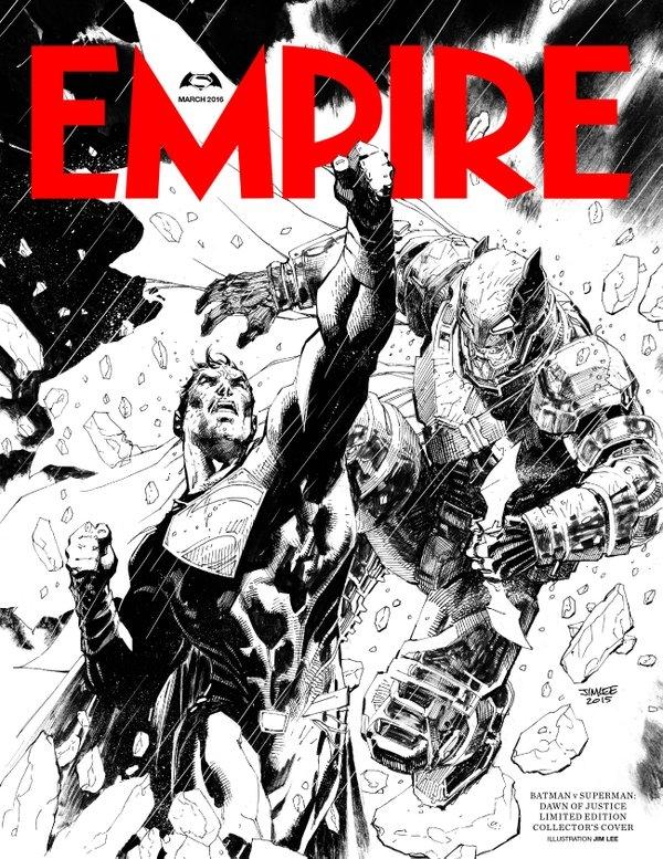 batman v superman - empire cover - jim lee