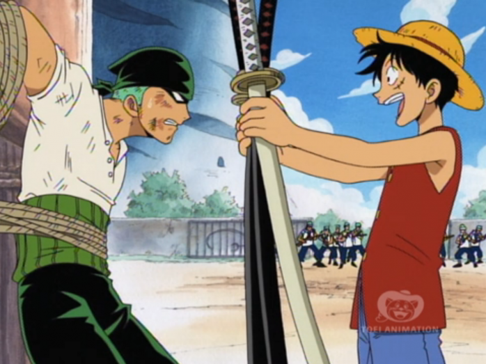one-piece-luffy-zoro-primer-encuentro