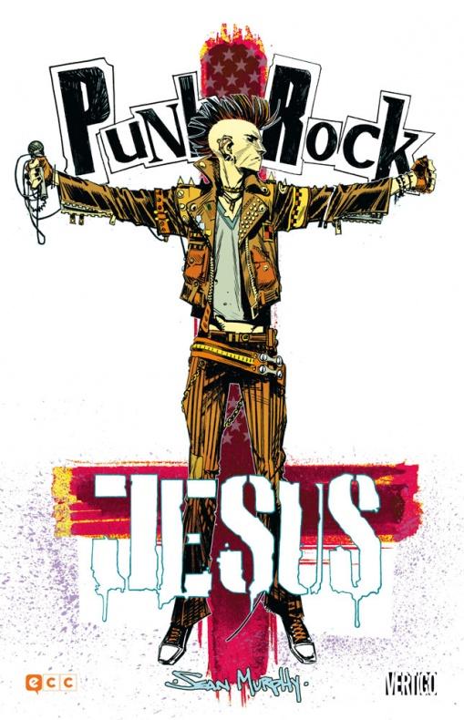 punk rock jesus ecc ediciones cartone