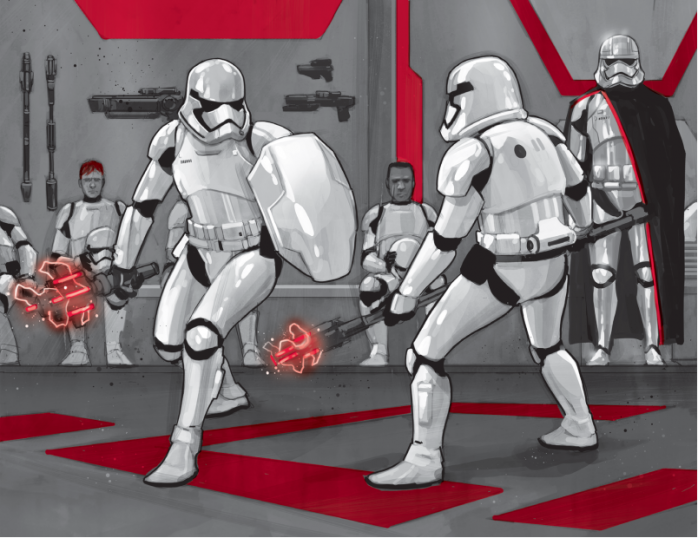 troopers training