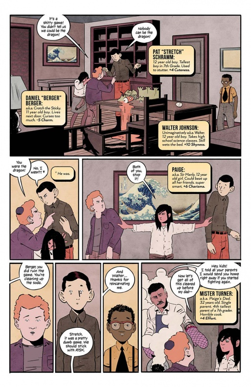 4 Kids Walk Into A Bank Página interior (9)