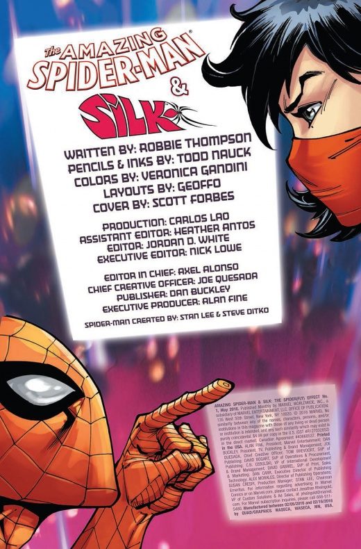 Amazing Spider-Man & Silk Página interior (1)