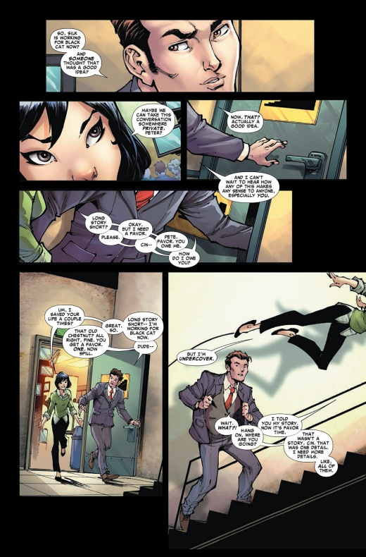 Amazing Spider-Man & Silk Página interior (2)
