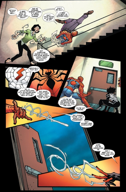 Amazing Spider-Man & Silk Página interior (3)