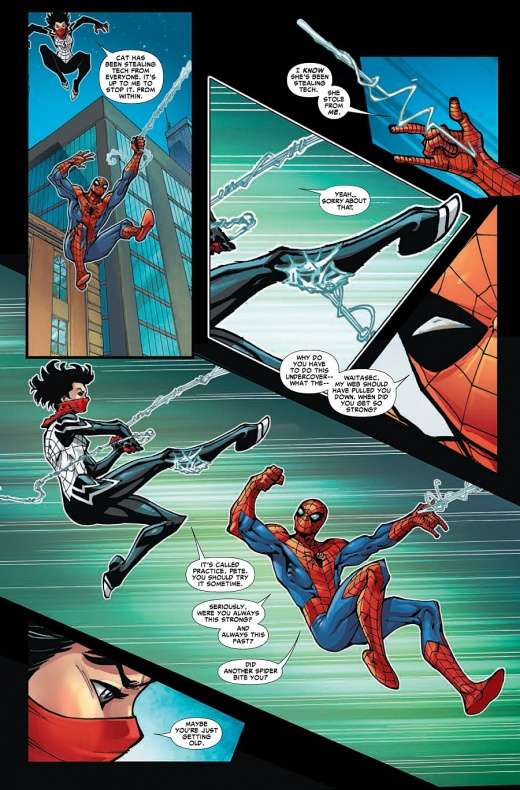 Amazing Spider-Man & Silk Página interior (5)