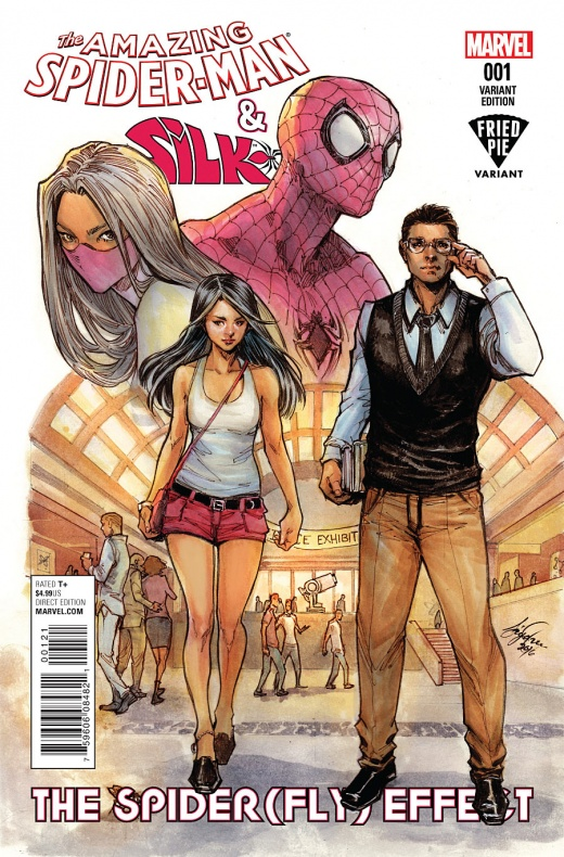 Amazing Spider-Man & Silk Portada alternativa de Siya Oum