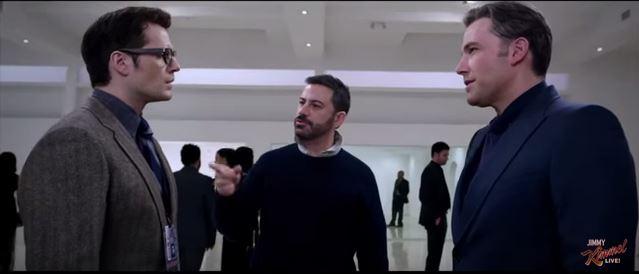 Batman v Superman deleted scene Jimmy Kimmel