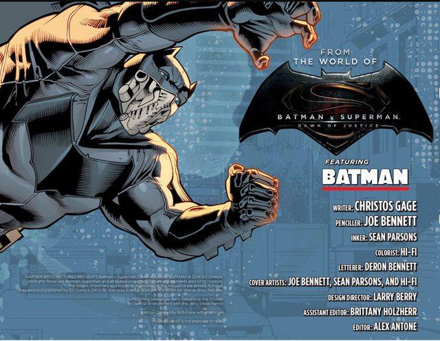 BvS comic Batman2