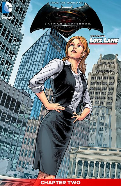 BvS comic Lois1
