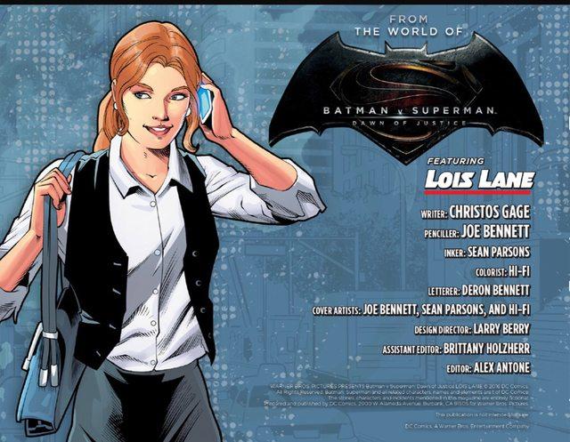 BvS comic Lois2