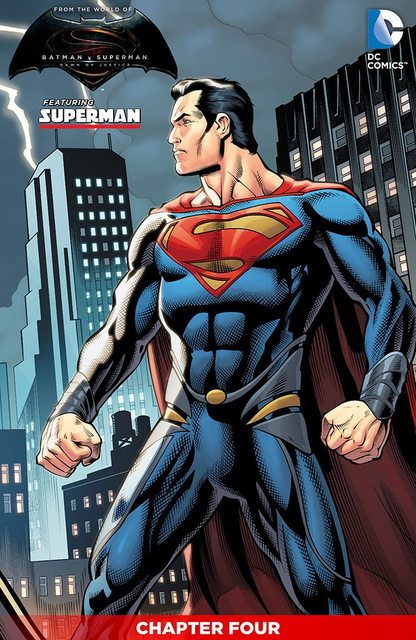 BvS comic Superman1