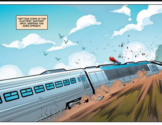 BvS comic Superman16