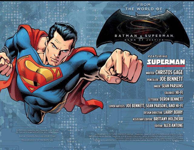 BvS comic Superman2
