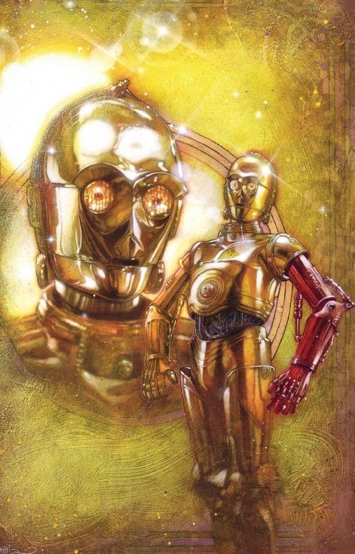 C 3PO Cover