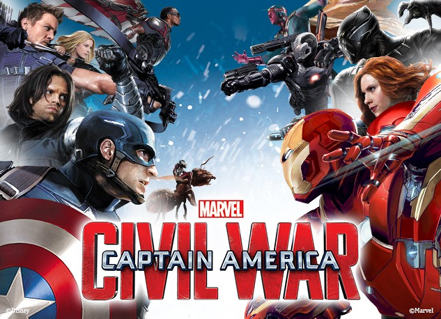 Capitan America Civil War equipos