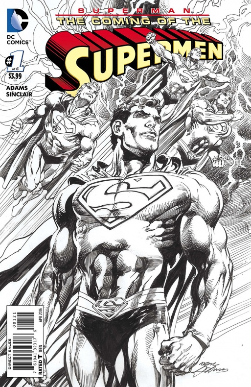 Coming of the Supermen Cover