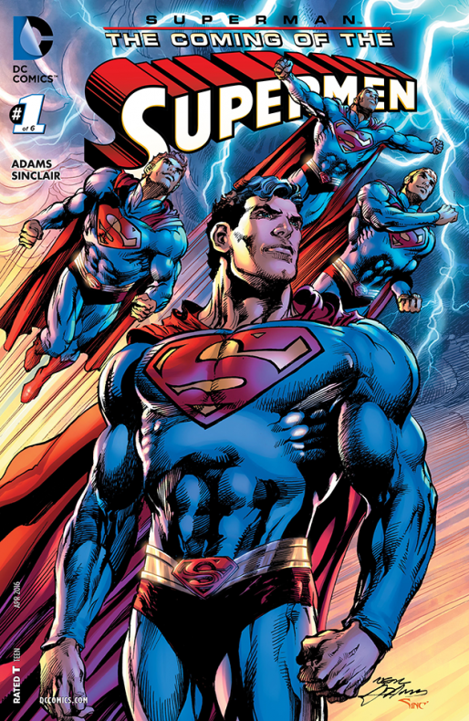 Coming of the Supermen Cover1