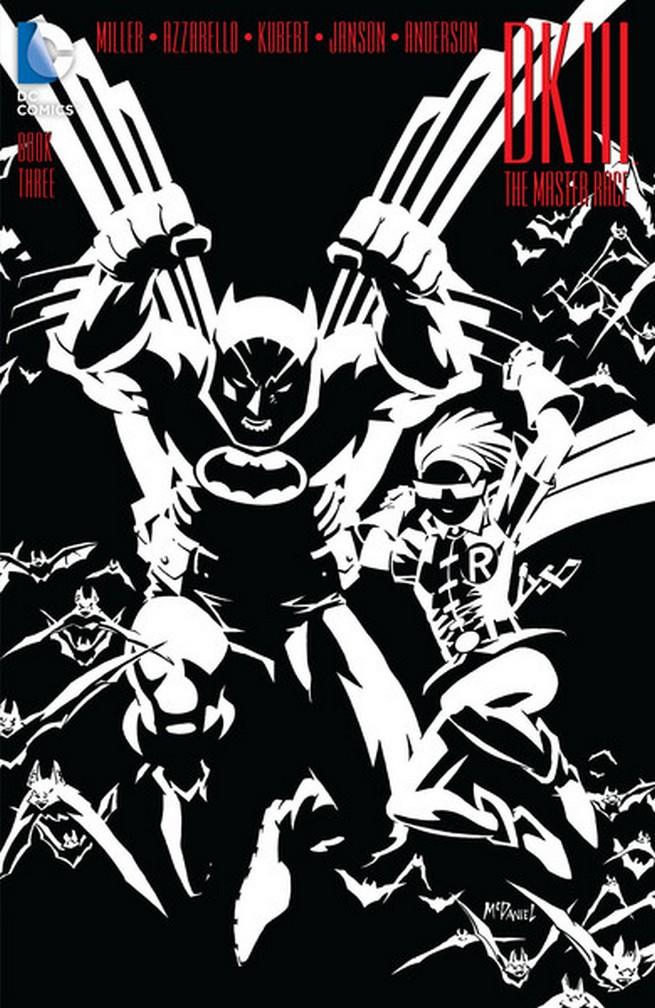 Dark Knight III libro tres portadas alternativas 01