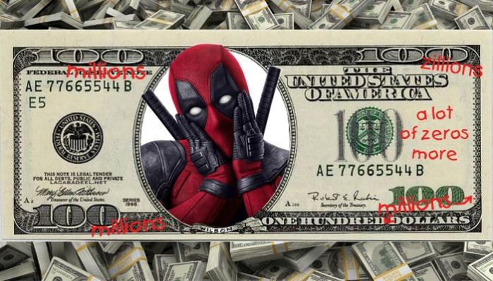 Deadpool 100 millones