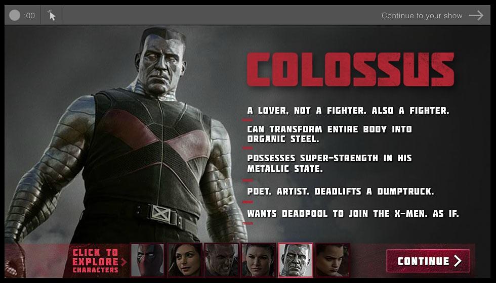 Deadpool biografía de personajes Coloso