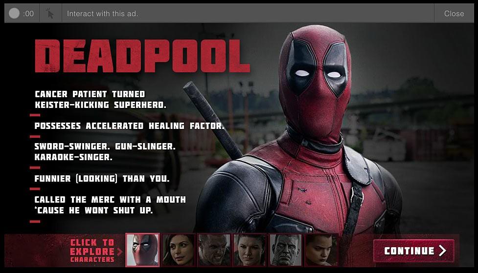 Deadpool biografía de personajes Deadpool