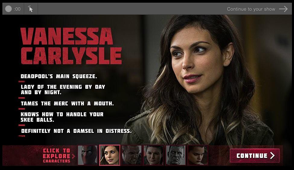 Deadpool biografía de personajes Vanesa Carlysle