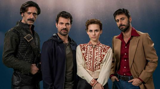El Ministerio del Tiempo - temporada 2 protagonistas
