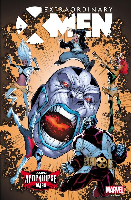 Extraordinary X-Men 8 Portada